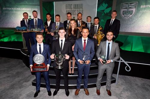 Around 370 guests assembled in London to celebrate the successes of BRDC Members, SuperStars and Rising Stars on Monday 3 December 2018.