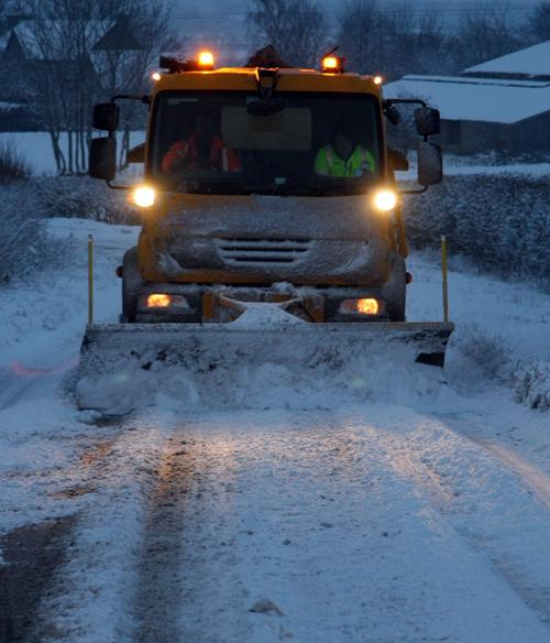 "Cabinet Member for Transport, Highways and Environment Cllr Ian Morris said: ""The gritting team do a tremendous job keeping the county moving during the winter, with 24-hour monitoring between the months of October and April."