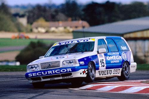 Volvo's famous 850 Estate added to special 60th anniversary celebr ati ons• Touring car legend Rickard Rydell reunited with nineties tin-top icon• Twenty years on: Swedish star to race his title winning Volvo S40 • All Silverstone Classic tickets must be purchased in advance