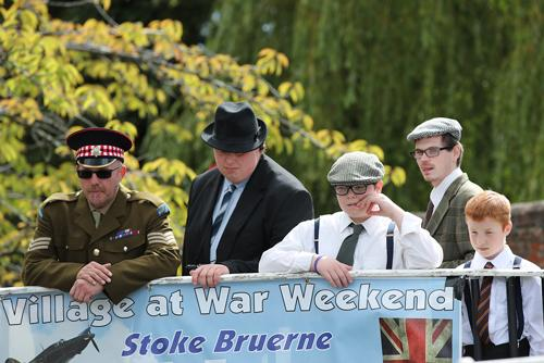 Stoke Bruerne all set to host vintage 40s weekend