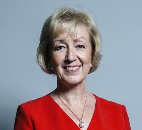 Rt Hon Andrea Leadsom MP for South Northamptonshire