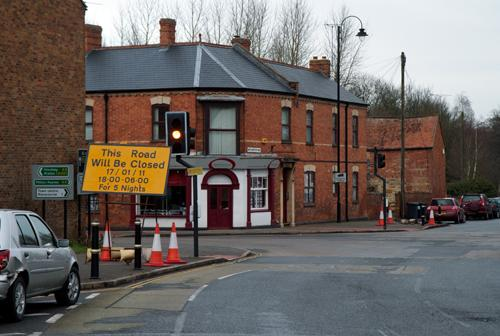 Brackley Road and Watling Street A5 junction will be closed for 400 yards north and south for 5 nights
