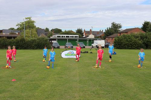 South Northamptonshire Council's (SNC) Wildcats sessions for girls aged five to 11, and the Walking Football sessions for adults aged 50 and over have started-up again, while closely following Covid-19 secure guidelines.