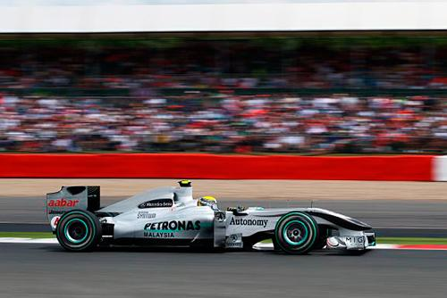 Rosberg pleased with fifth place on the grid Picture World Copyright Kalisz/Sutton Images