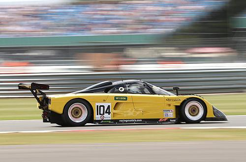Local team Strakka Racing at World Endurance Championships at Silverstone Circuit