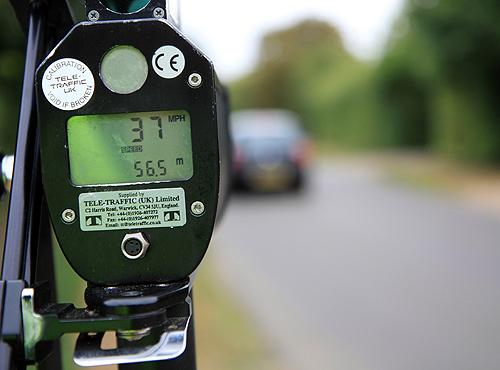 "Police officers tackling speeding on Northamptonshire's roads are asking motorists – ""is it worth it?"""