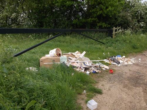 Northampton residents urged to do their part to stop fly-tips in the south of the county