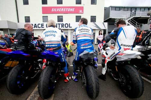 Two-wheeled heroes out in force at the 2017 Silverstone Classic