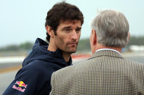 Mark Webber who won the F1 Monaco Grand Prix at the weekend
