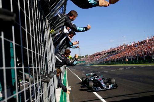 Lewis Hamilton driving for Braclkley based F1 Mercedes AMG Petronas claimed his 67th career victory - his fifth in 2018 and sixth at the Hungarian Grand Prix