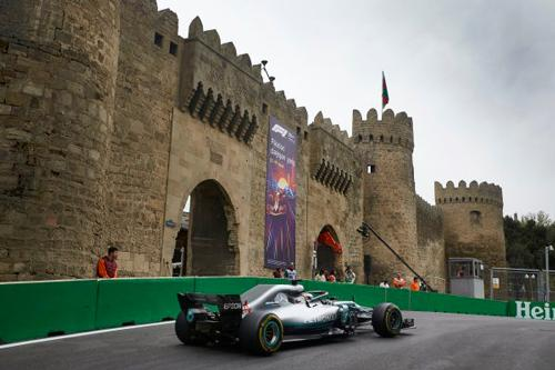 Brackley based F1 Mercedes AMG Petronas looking ahead to Round 4 of the 2019 Formula One season, around the streets of Baku