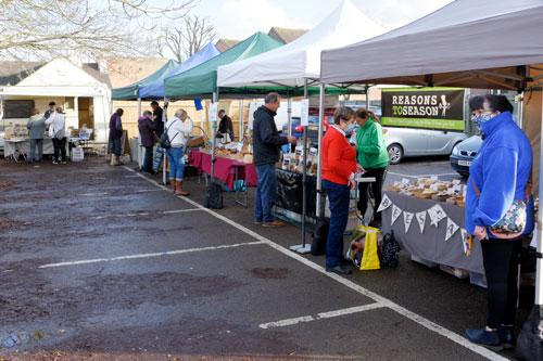 The Towcester Farmers Market will take place on Friday 8th January 2021, from 9am to 1.30pm, in Richmond Road car park.