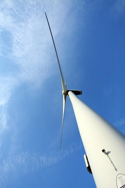 Is Northamptonshire the wind farm captial of the England?