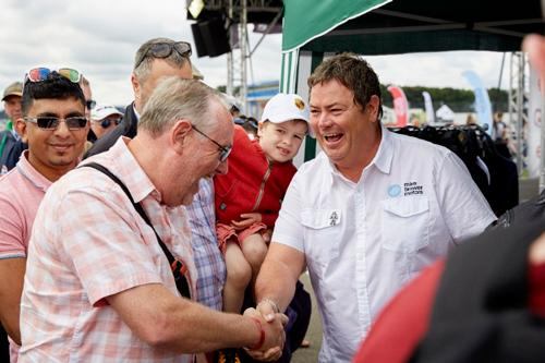 Much-loved TV personality and renowned motoring mastermind, Mike Brewer, is returning with his hugely-popular Car Clinics as one of the major off-track highlights at this summer's Silverstone Classic (20-22 July 2018).