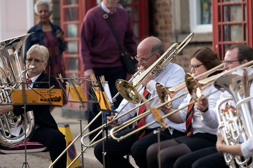 Towcester Studio Band stalwarts of the Towcester MidSummer Music will start proceedings on Saturday in the Market Square.