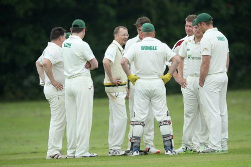 The midweek cup final is, somewhat oddly, always played on a Sunday and this year Norton were hosted by Woodford Halse for their match against Byfield's A team. The weather was expected to be showery but Byfield decided to bat first – never an easy call.