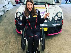 McGloin, aged 34 from Towcester, is the first female MSA Competition Licence holder with a serious spinal injury, having been involved in a road traffic accident aged 16. She first got on track in 2015 with Mission Motorsport, and now competes in the Porsche Club Championship. She scored her first outright podium in the BWRDC all-comers race last November (pictured).