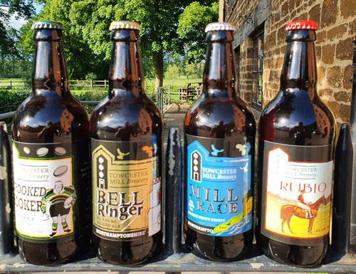 Towcester Mill Brewery is opening its pop-up Bottle Shop this weekend for the second time since it had to close its doors at the end of March 2020.