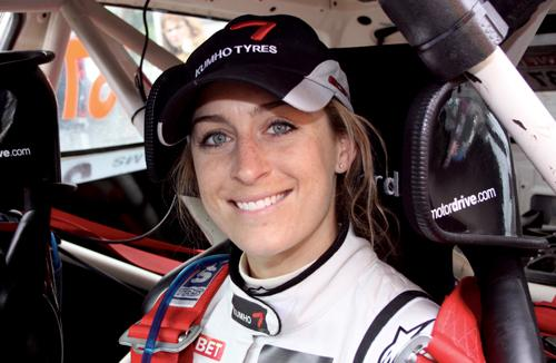 Amy Williams MBE is the latest Olympic champion to be ready to race in the star-studded Celebrity Challenge Trophy showdown at this summer's Silverstone Classic (28-30 July 2017).
