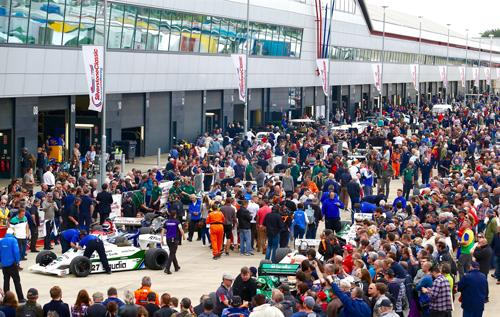 Unrivalled entertainment both on- and off-track • 'All the ingredients to be the best yet,' says Silverstone Classic CEO • Celebrating motoring milestones plus the music of Woodstock 50 years after • All tickets for the event must be purchased before midnight on Thursday