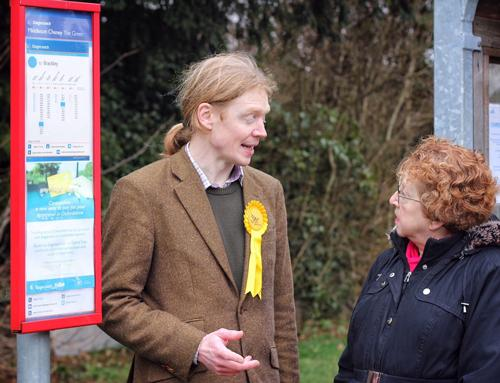 Liberal Democrats are campaigning against cuts to local bus services