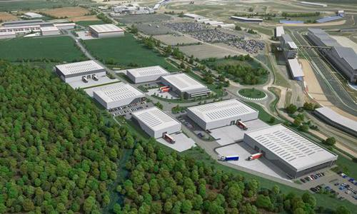 CGI of MEPC's new 140,000 sq ft speculative development at Silverstone Park.
