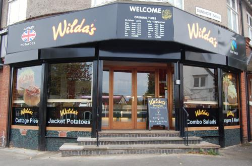 Wilda's Jacket Potatoes in Hillmorton, Rugby