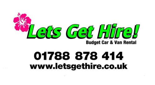 Lets Get Hire, budget car and van rental, Rugby