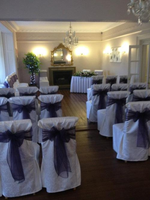 Chair Covers Hire - Blossom Events, Rugby