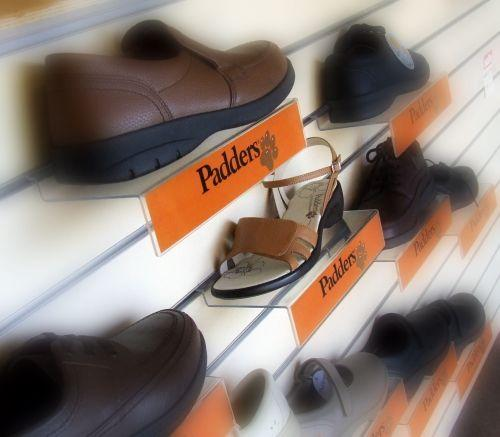 A range of shoes for ladies and men
