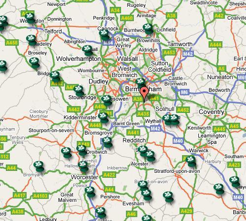 Natational Trust Properties Birmingham