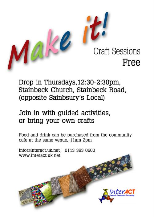 Craft Group, Meanwood, Free, Social