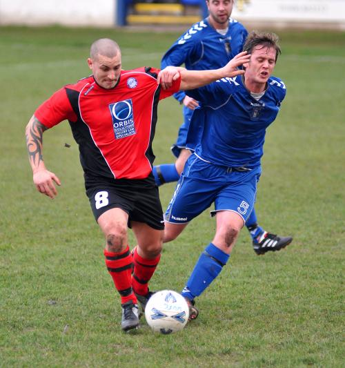Ramsbottom United midfielder Robert Grimes
