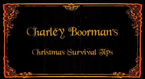 Charlie Boorman's Christmas Tips