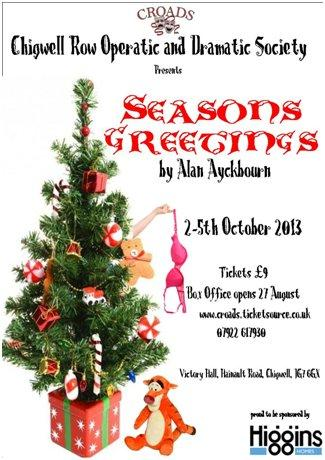 News whats on local site for ig7 ig7 croads are pleased to present seasons greetings by alan ayckbourn m4hsunfo