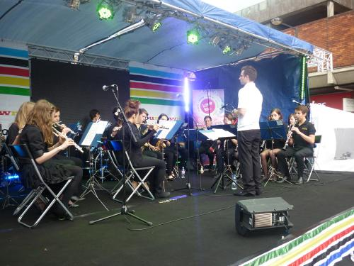 East Herts Concert Band - performing at Broxbourne's 'One Month and Counting'