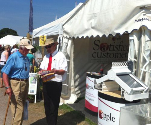 Apple receives a record number of sales enquiries at the New Forest Show