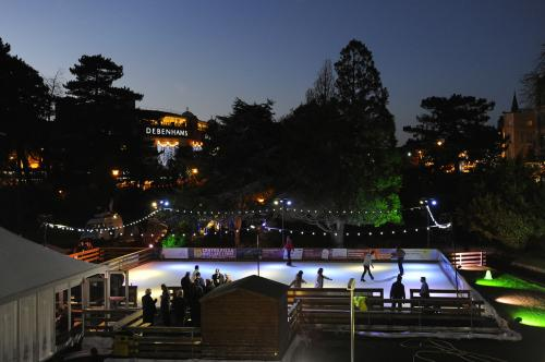 Bournemouth's outdoor ice rink