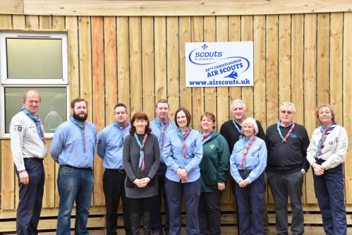 New Scout hut opens thanks to Talbot Village Trust