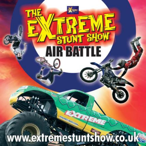 The Extreme Stunt Show Air Battle 2015 flyer