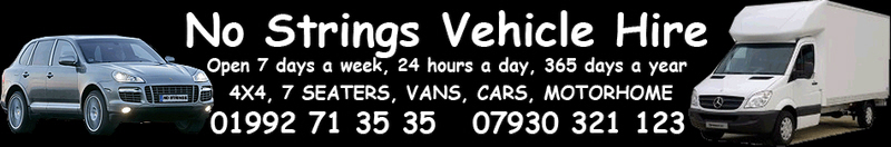 No Strings Vehicle Hire