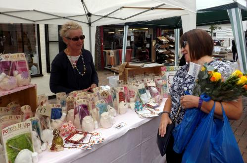 Patch It Up craft stall at Keep It Local Fete Waltham Abbey