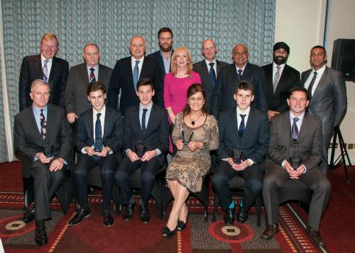 Investors in Young People 2014 Awards winners group