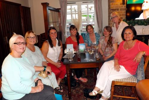 Waltham Abbey Writers Group members