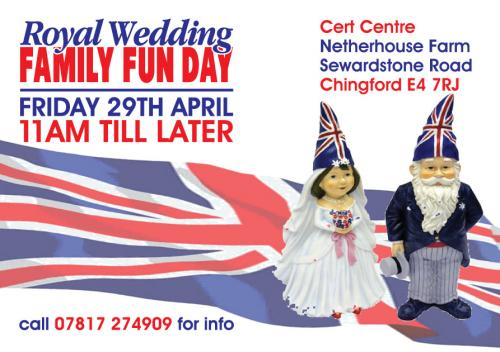 royal wedding date and time. Royal Wedding Family Fun Day