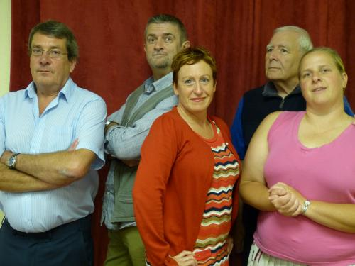 Spy Game cast members of Waltham Abbey Theatre Company