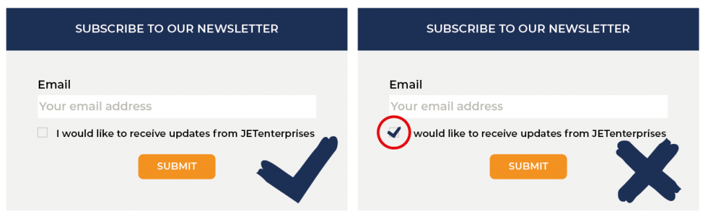 Subscribe to our newsletter Opt in or out