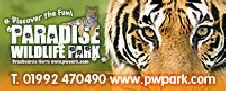 Paradise Wildlife Park advert image