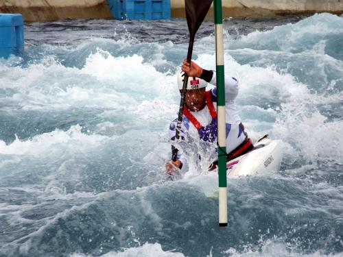 Richard Hounslow Great Britian canoe slalom athlete