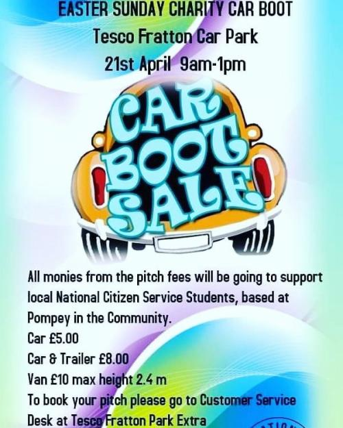 b21f8aa7cc4 Over one hundred pitches have been booked for a charity car boot sale on  the 21st April.